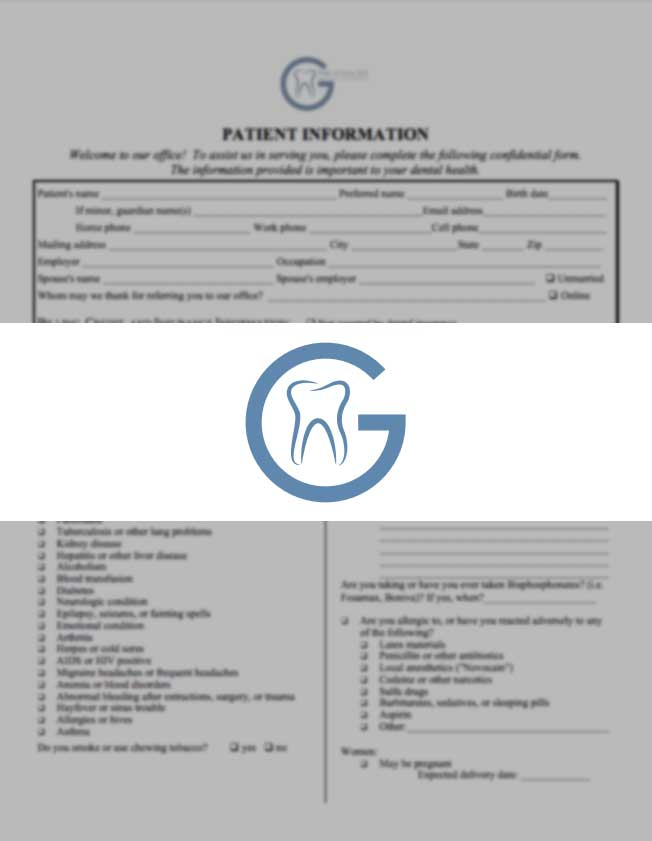 new patient form thumbnail